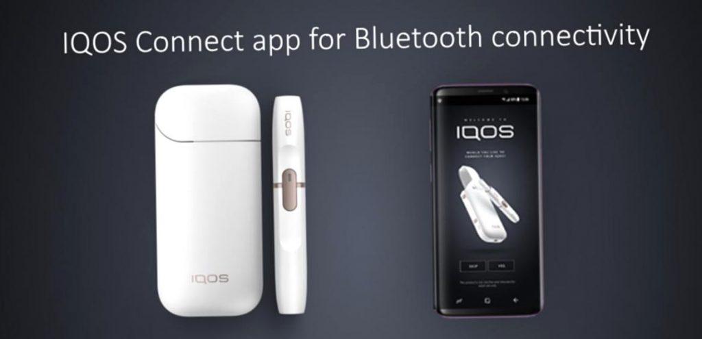 IQOS Connect app для подключения телефона по bluetooth