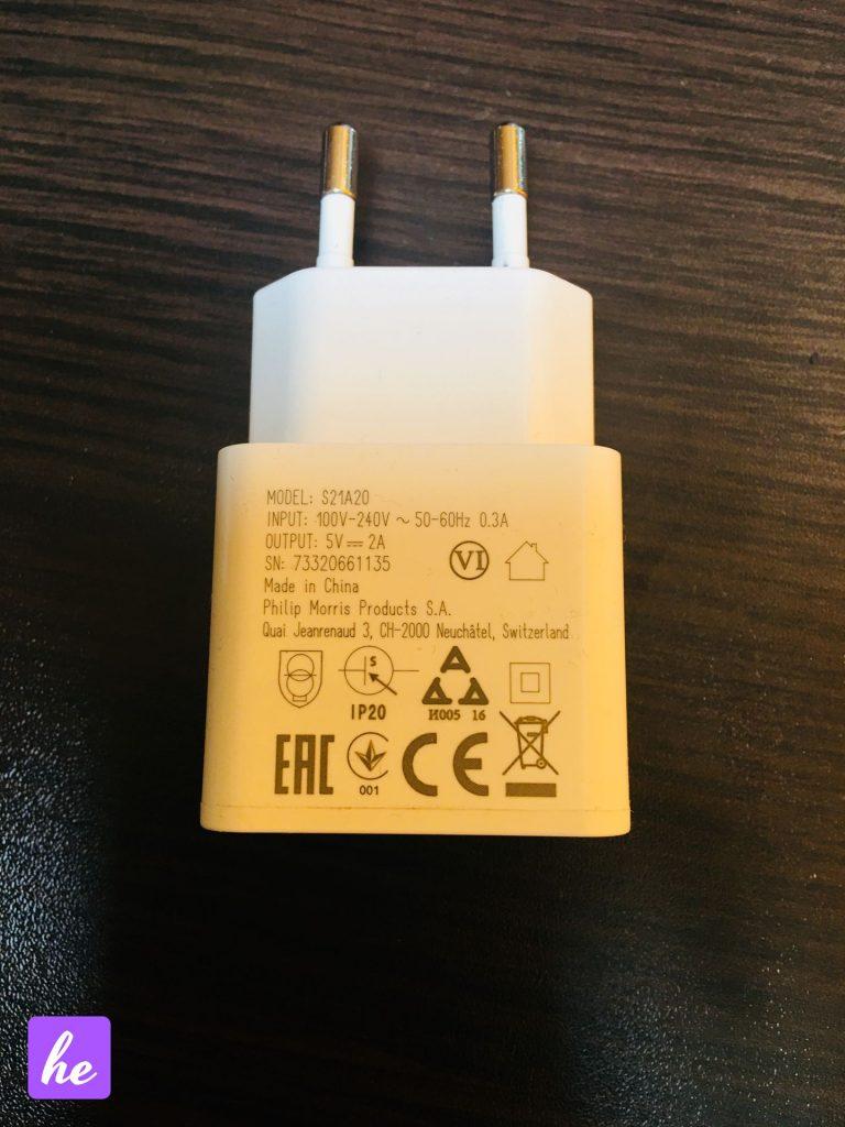 Адаптер IQOS 2.4 Plus USB 5V 2A характеристики