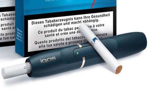 В стиках для Айкоса содержатся пластинки из натурального табака