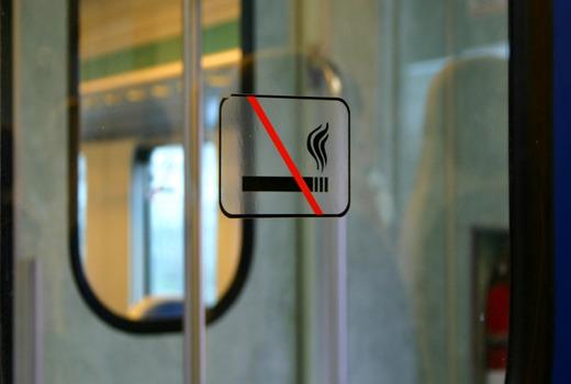 Можно ли курить Айкос в поезде