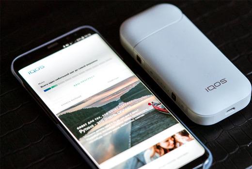 IQOS приложение для Айфон