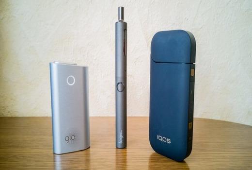 Сравнение нагревателей табака IQOS и GLO
