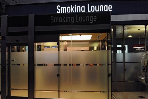 Курение Айкос в аэропорту