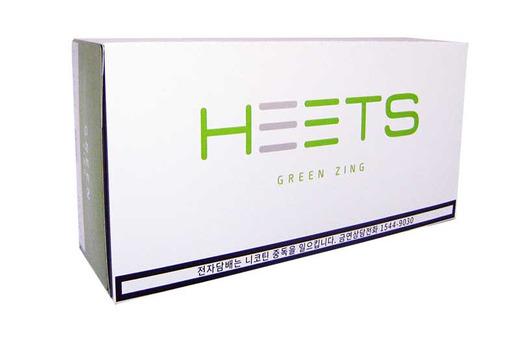 Green Zing среди новинок для Айкос
