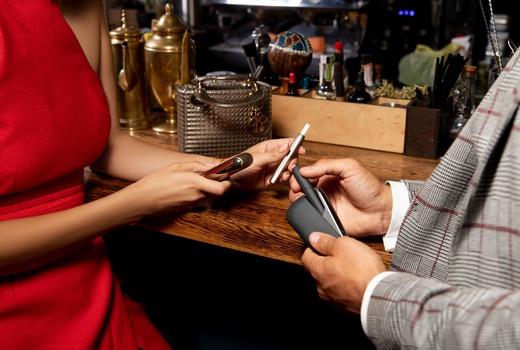 Айкос в ресторанном зале – тренд актуальный