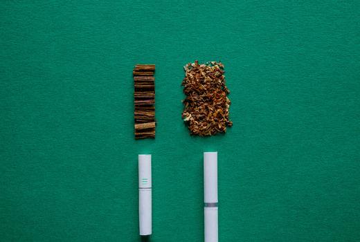 В Айкосе остается табак